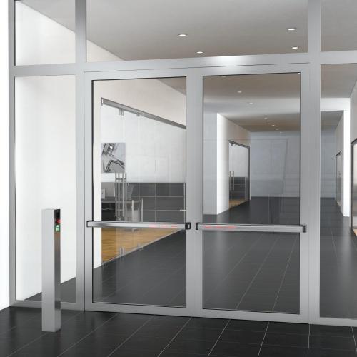 A Door On Glass